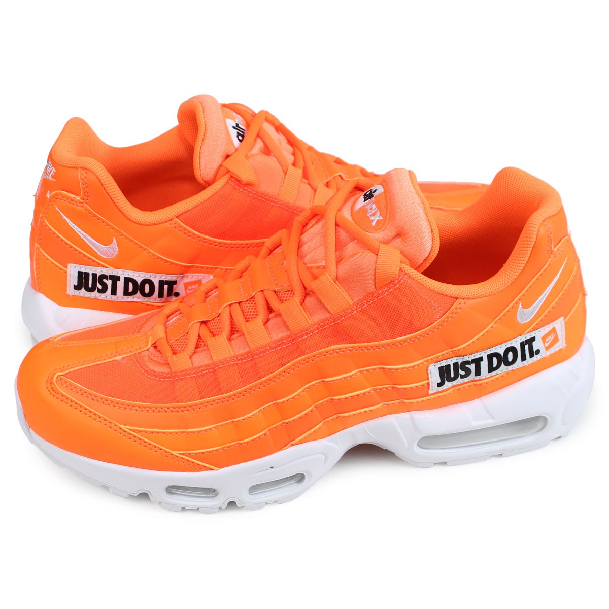 brand new 0b725 b0515 Nike NIKE Air Max 95 sneakers men AIR MAX 95 SE JUST DO IT orange  AV6246-800 [197]