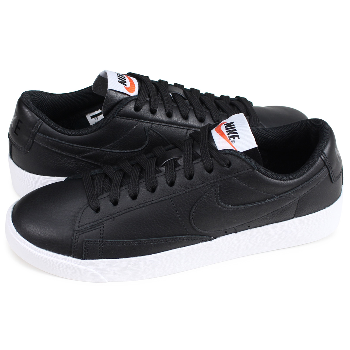 more photos ff358 252f7 ALLSPORTS Nike NIKE blazer low sneakers Ladys WMNS BLAZER LOW LEATHER  black AQ1777-001 load planned Shinnyu load in reservation product 215  containing ...