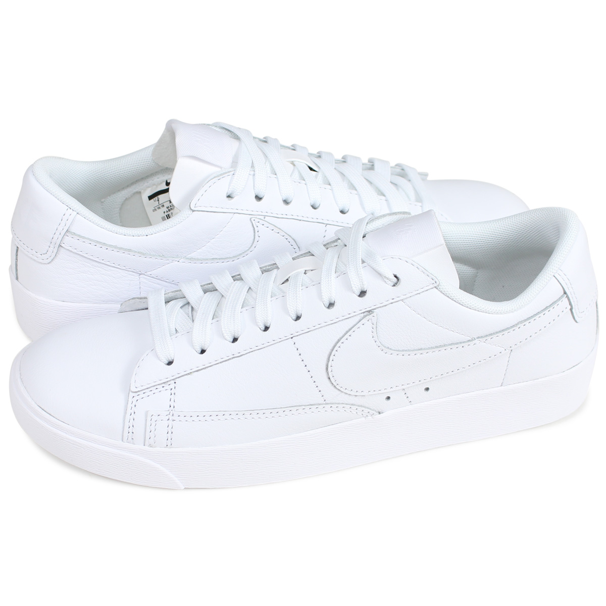on sale b8c33 4a411 Categories. « All Categories · Shoes · Women s Shoes · Sneakers · Nike NIKE  blazer low sneakers Lady s WMNS BLAZER LOW LEATHER white ...