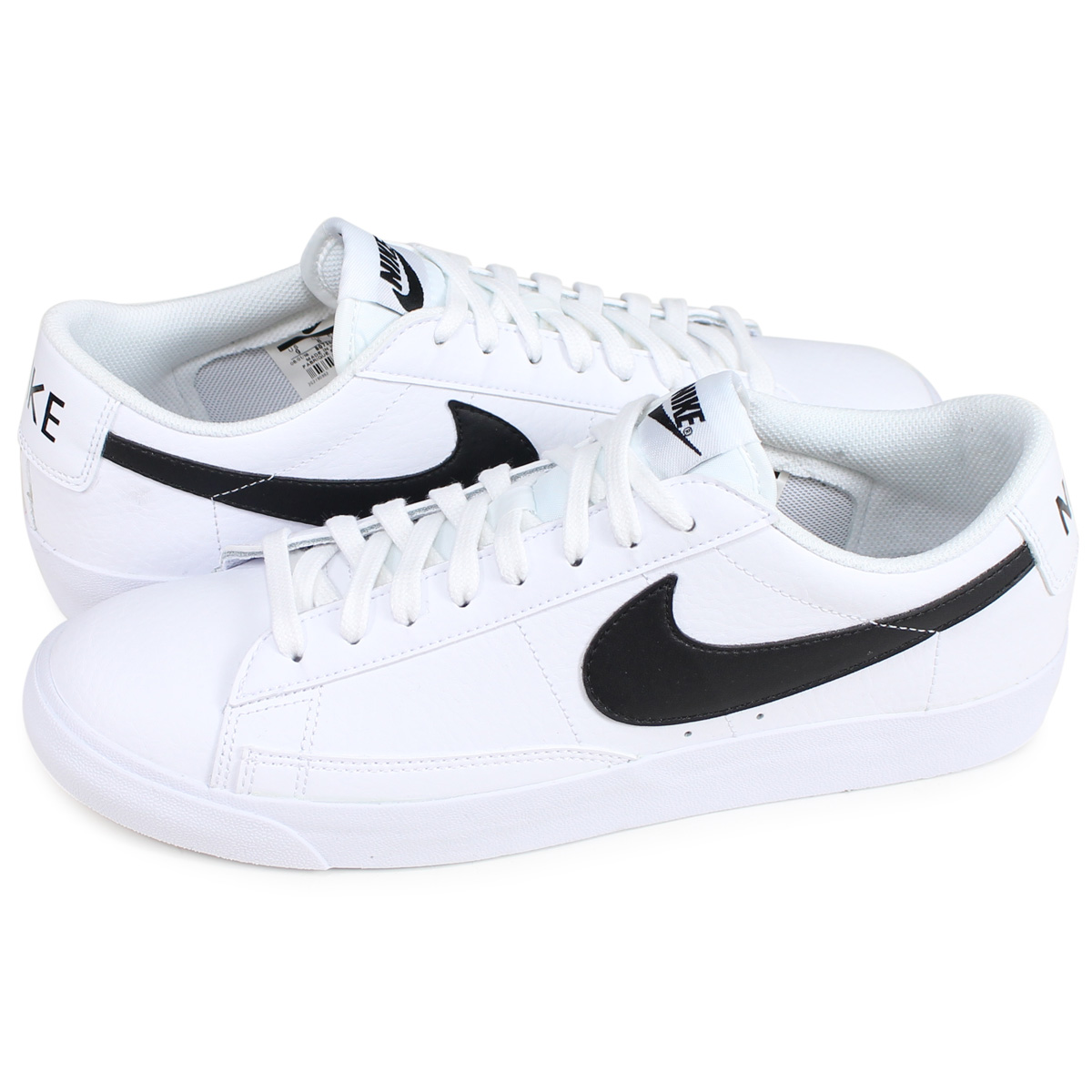 competitive price 71826 d5744 Nike NIKE blazer low sneakers men BLAZER LOW LEATHER white BQ7306-001 [192]