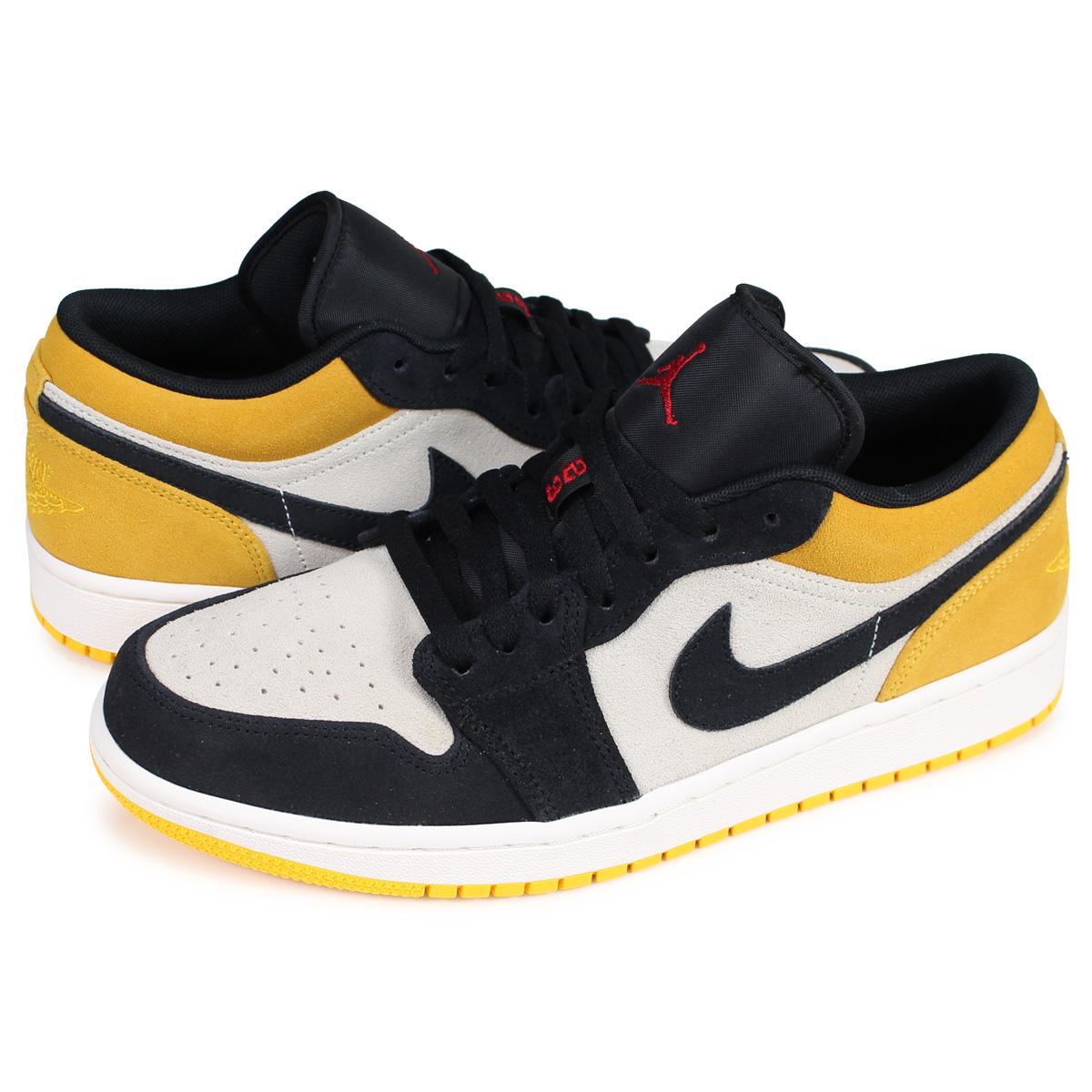 dostępność w Wielkiej Brytanii świetne dopasowanie moda Nike NIKE Air Jordan 1 nostalgic sneakers men AIR JORDAN 1 LOW BLACK TOE つま  black white white 553,558-127 [195]