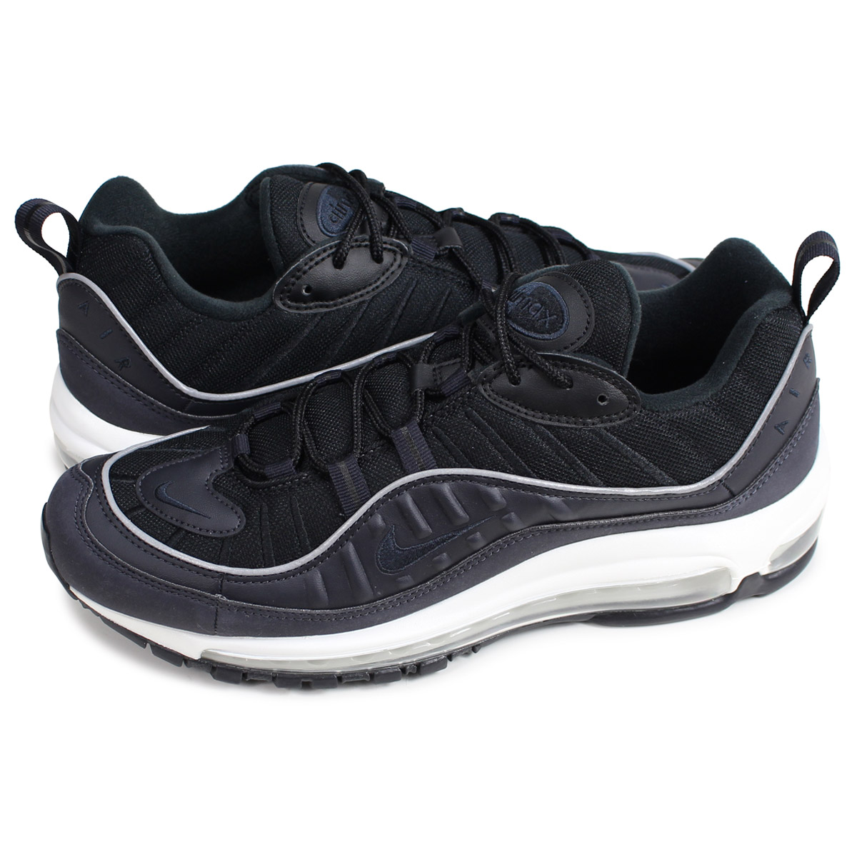 sports shoes ee470 1e579 Nike NIKE Air Max 98 sneakers men AIR MAX 98 black 640,744-009  192