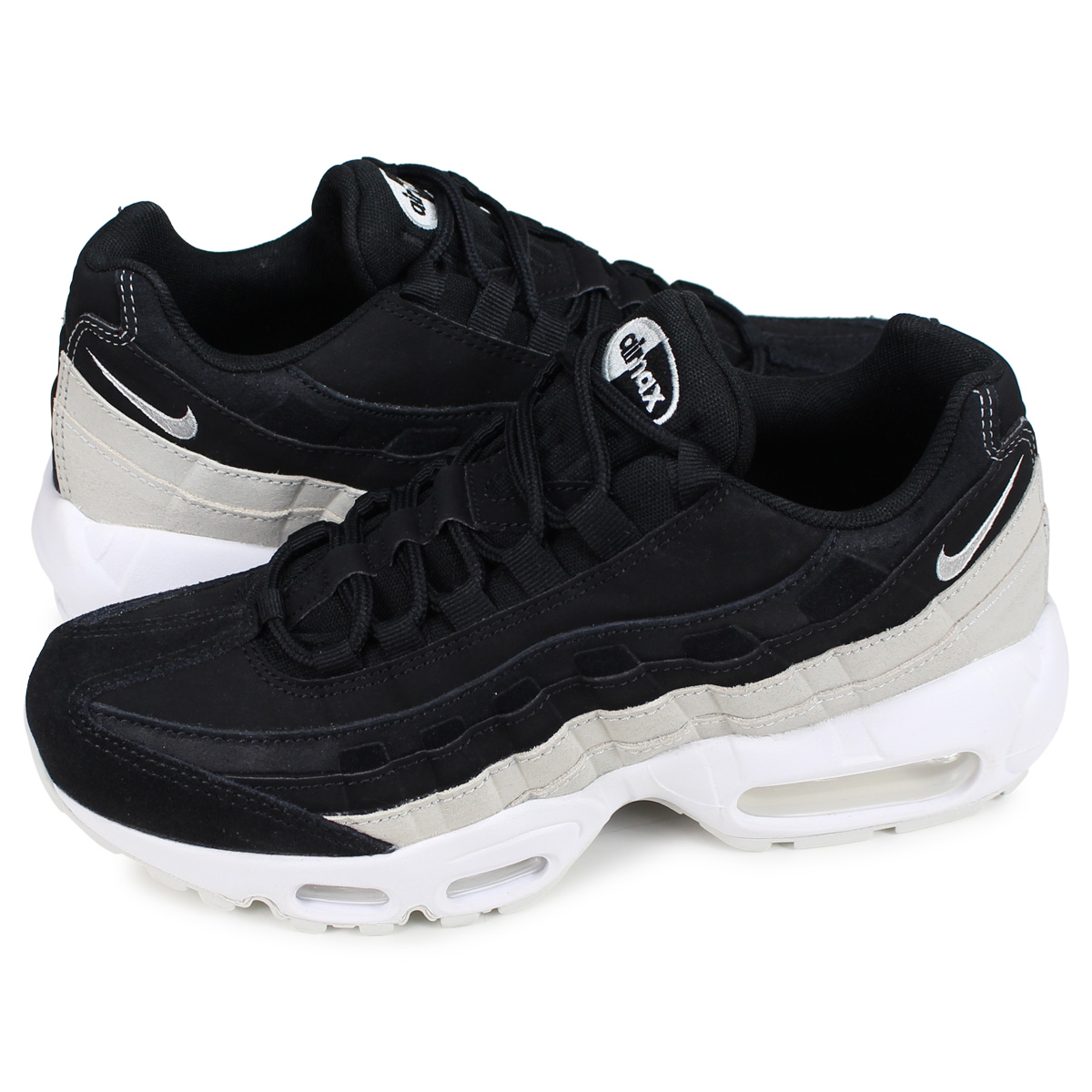 814e8320 Nike NIKE Air Max 95 sneakers Lady's men WMNS AIR MAX 95 PREMIUM black  807,443- ...