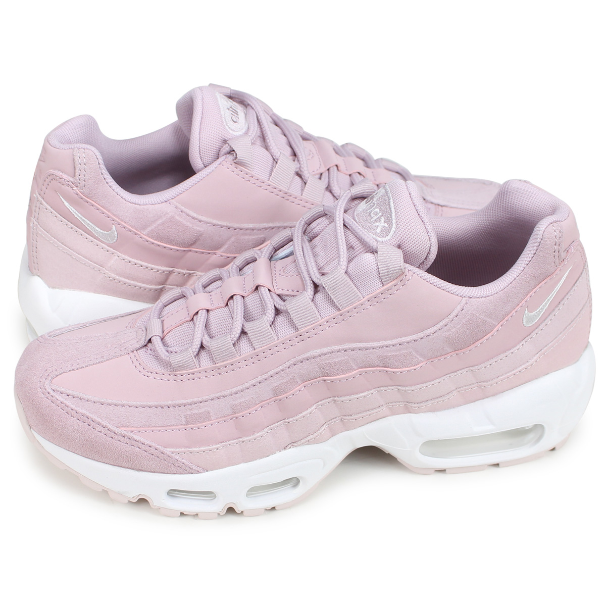 the best attitude eceaa 4b4cf Nike NIKE Air Max 95 sneakers Lady's WMNS AIR MAX 95 PREMIUM pink  807,443-503 [193]