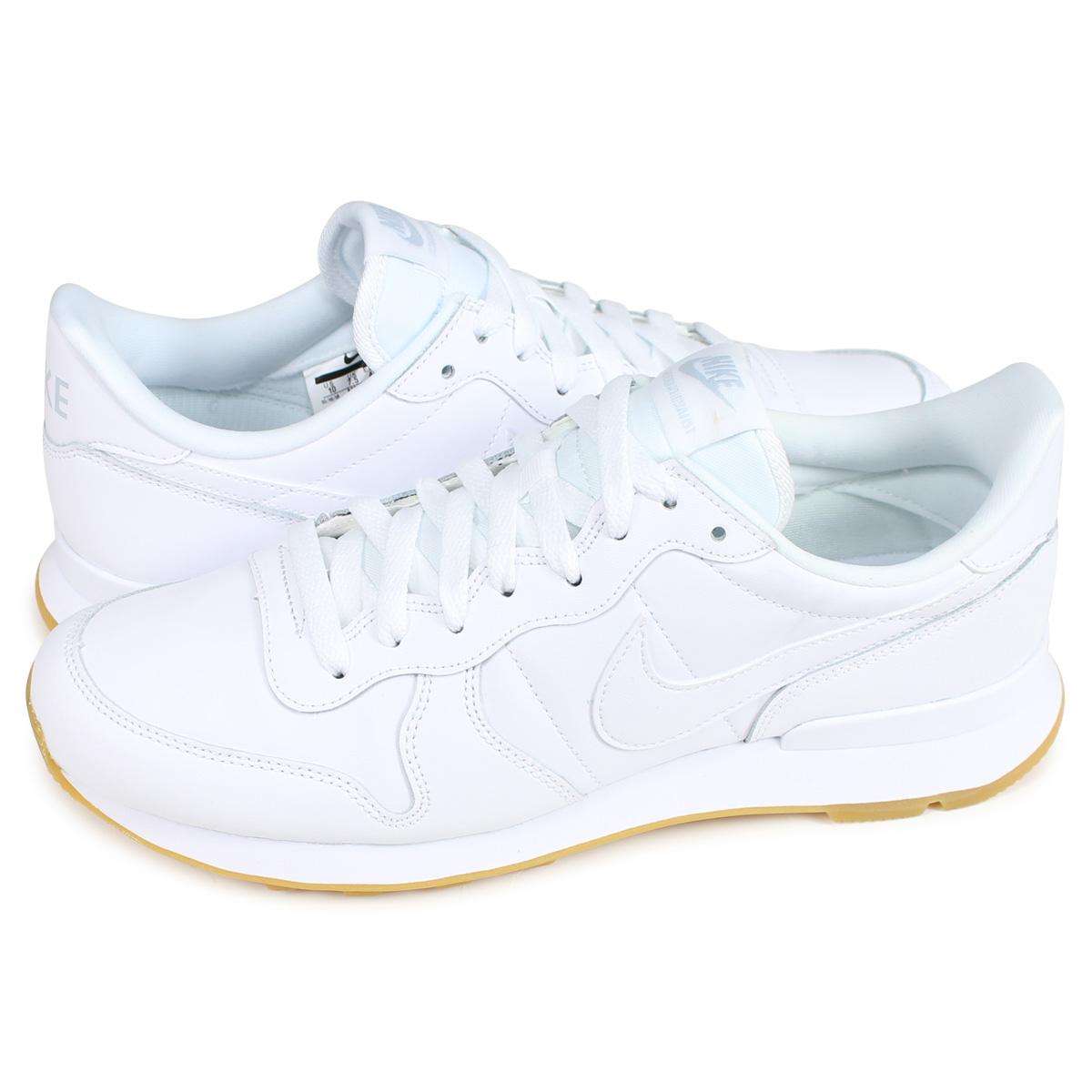 promo code 5243b cb4c5 Nike NIKE internationalist sneakers men WMNS INTERNATIONALIST white white  828,407-103  193