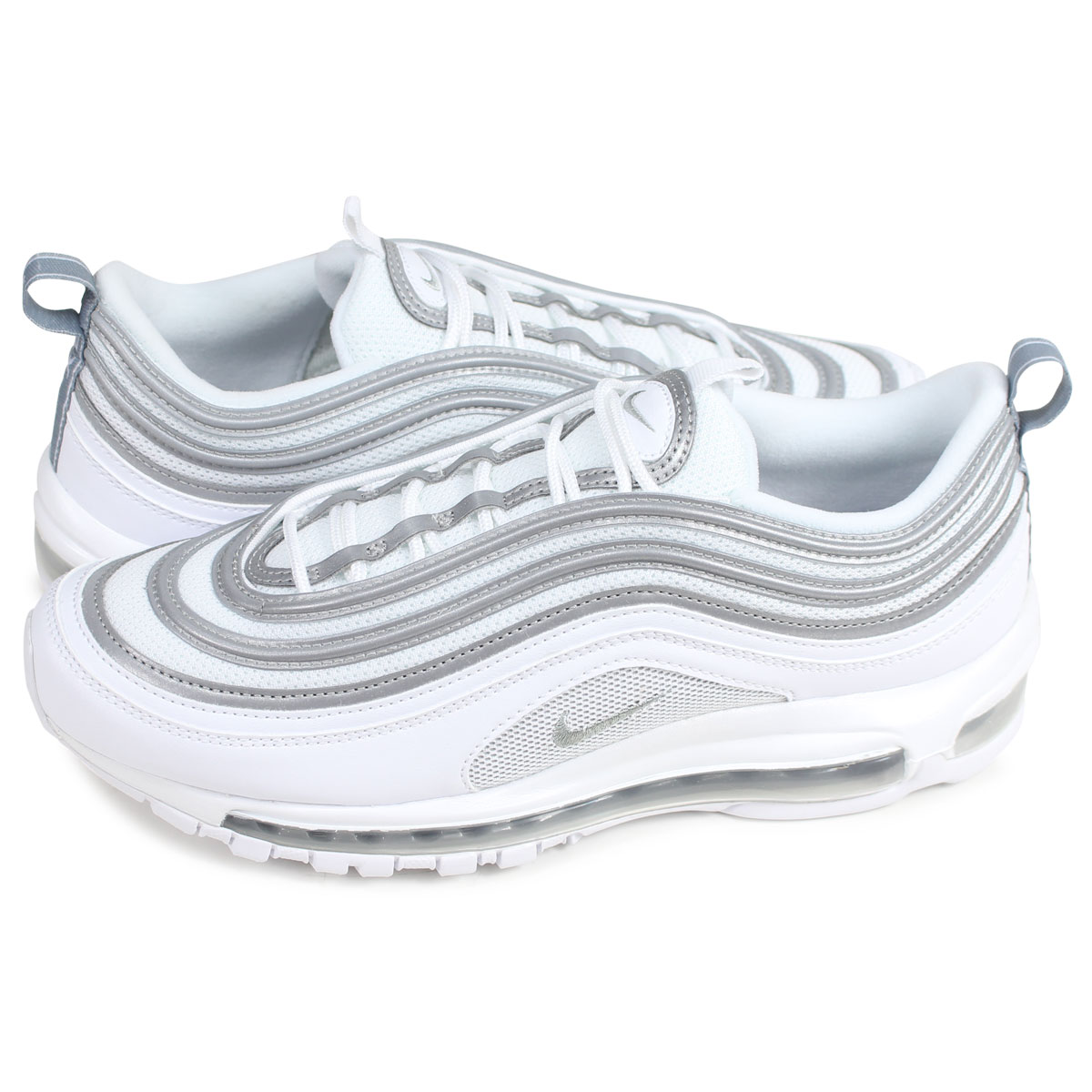 Nike NIKE Air Max 97 sneakers men AIR MAX 97 white white 921,826 105