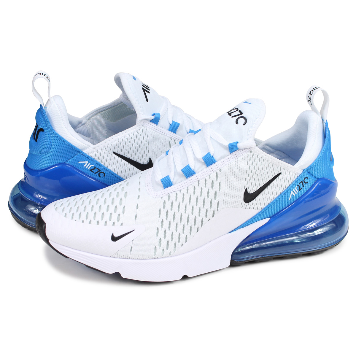 the latest 28a96 ffbda Nike NIKE Air Max 270 sneakers men AIR MAX 270 white white AH8050-110 [196]