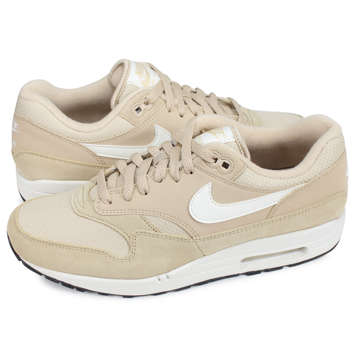 Nike NIKE Air Max 1 sneakers men AIR MAX 1 pink beige AH8145 202 [193]