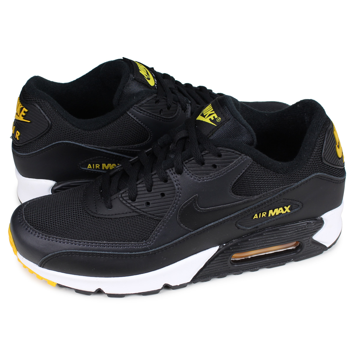 watch 44a25 58873 Nike NIKE Air Max 90 essential sneakers men AIR MAX 90 ESSENTIAL black  black AJ1285-022 [196]
