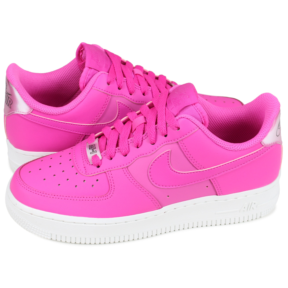 online retailer 45b2d 12796 Nike NIKE air force 1 sneakers Lady s WMNS AIR FORCE 1 07 ESSENTIAL pink  AO2132-600  4 19 Shinnyu load   194