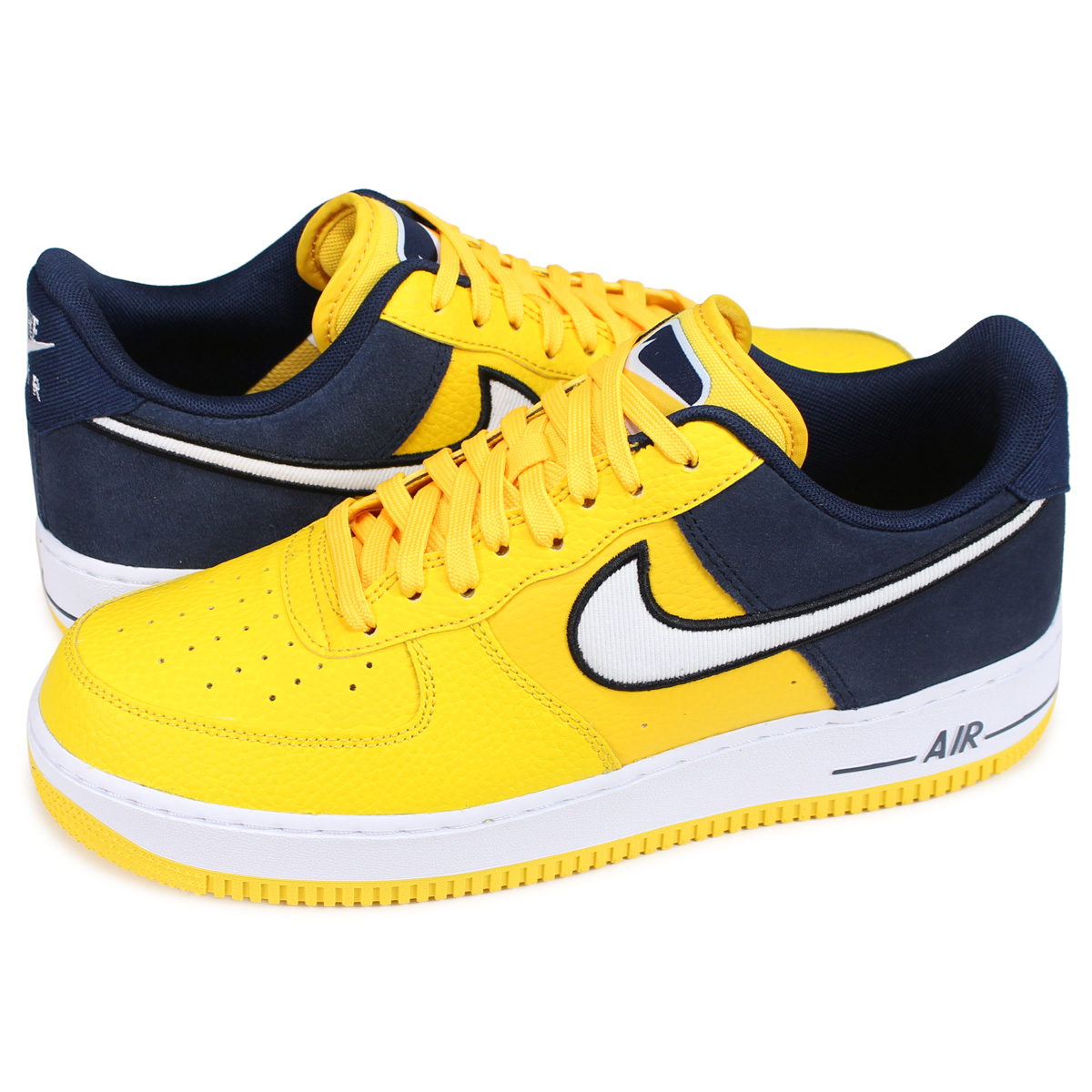 Nike NIKE air force 1 sneakers men AIR FORCE 1 07 LV8 yellow AO2439 700 [193]