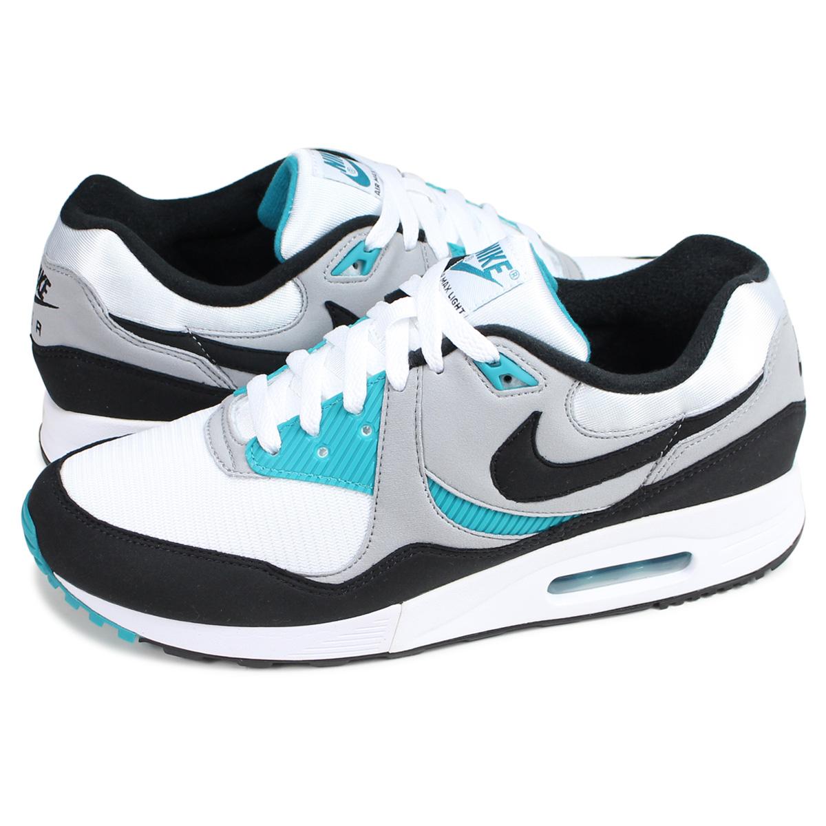 Nike NIKE Air Max light sneakers men AIR MAX LIGHT white white AO8285 103 [196]