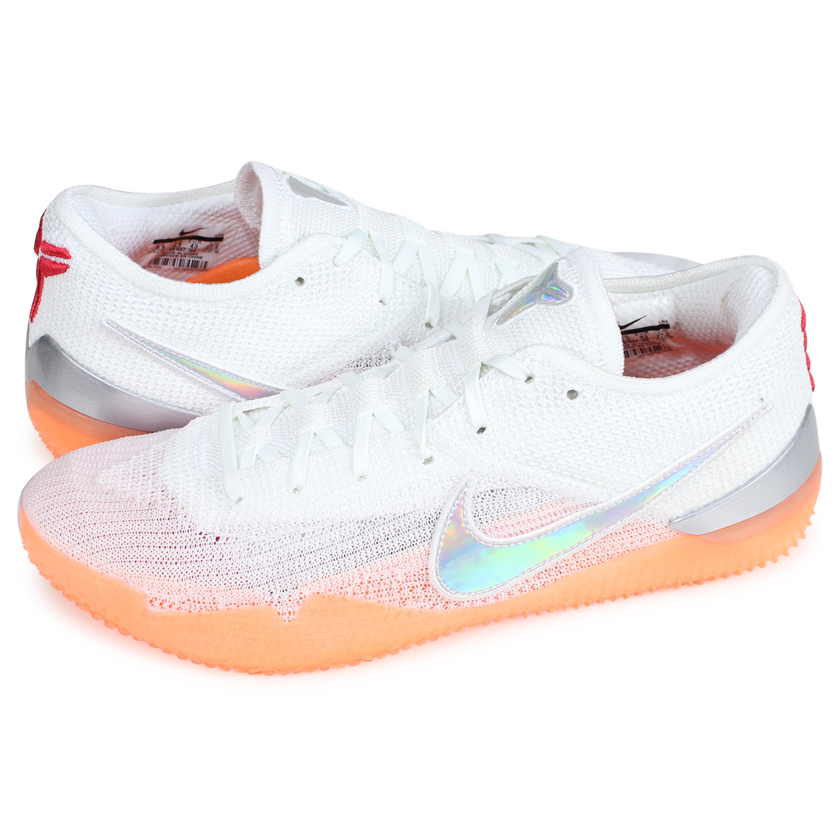outlet store bbbcb a3059 Nike NIKE Corby sneakers men KOBE AD NXT 360 white AQ1087-100 [load planned  Shinnyu load in reservation product 2/21 containing] [192]