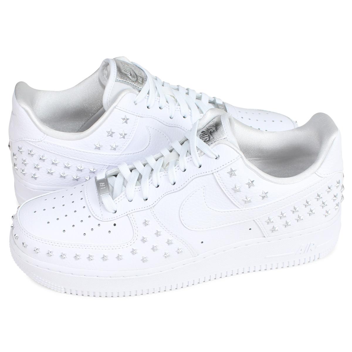 Nike NIKE air force 1 sneakers men WMNS AIR FORCE 1 07 XX white white AR0639 100 [193]