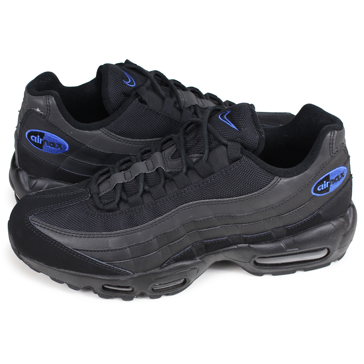 Nike NIKE Air Max 95 sneakers men AIR MAX 95 PREMIUM SE black black BQ3168 002 [195]