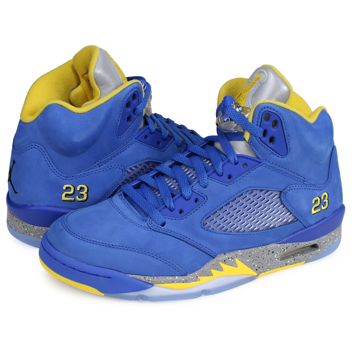 designer fashion 3ed73 4cb8b Nike NIKE Air Jordan 5 nostalgic sneakers men AIR JORDAN 5 RETRO JSP LANEY  blue CD2720-400  2 20 Shinnyu load   192