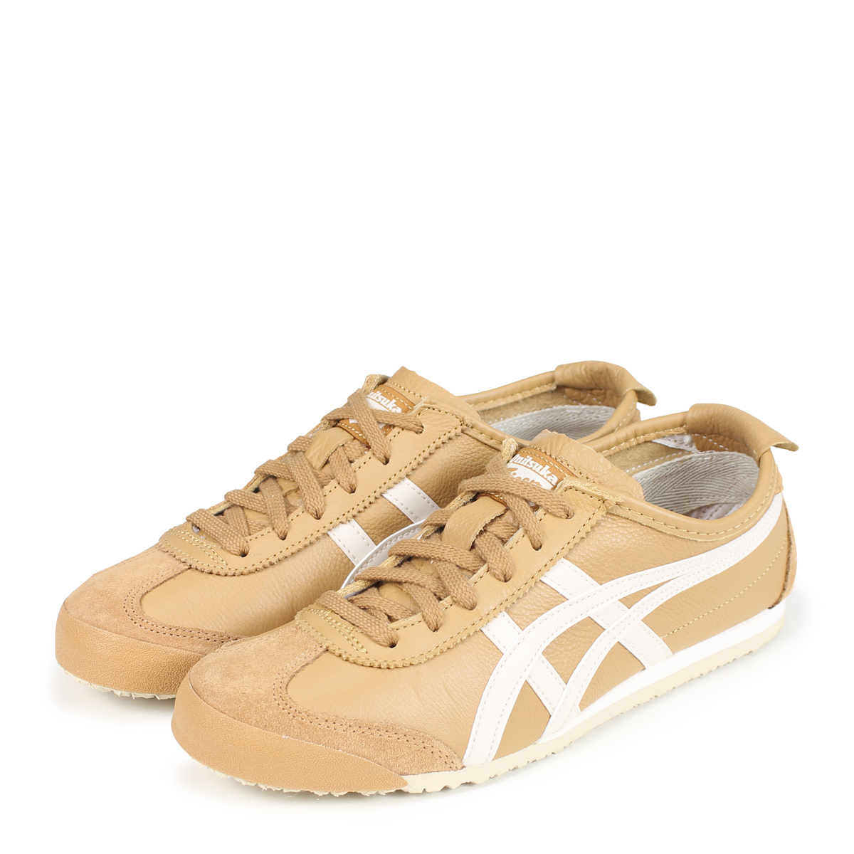 new arrival 23da2 22243 Onitsuka Tiger MEXICO 66 Onitsuka tiger Mexico 66 men's lady's sneakers  1183A201-200 brown beige [187]