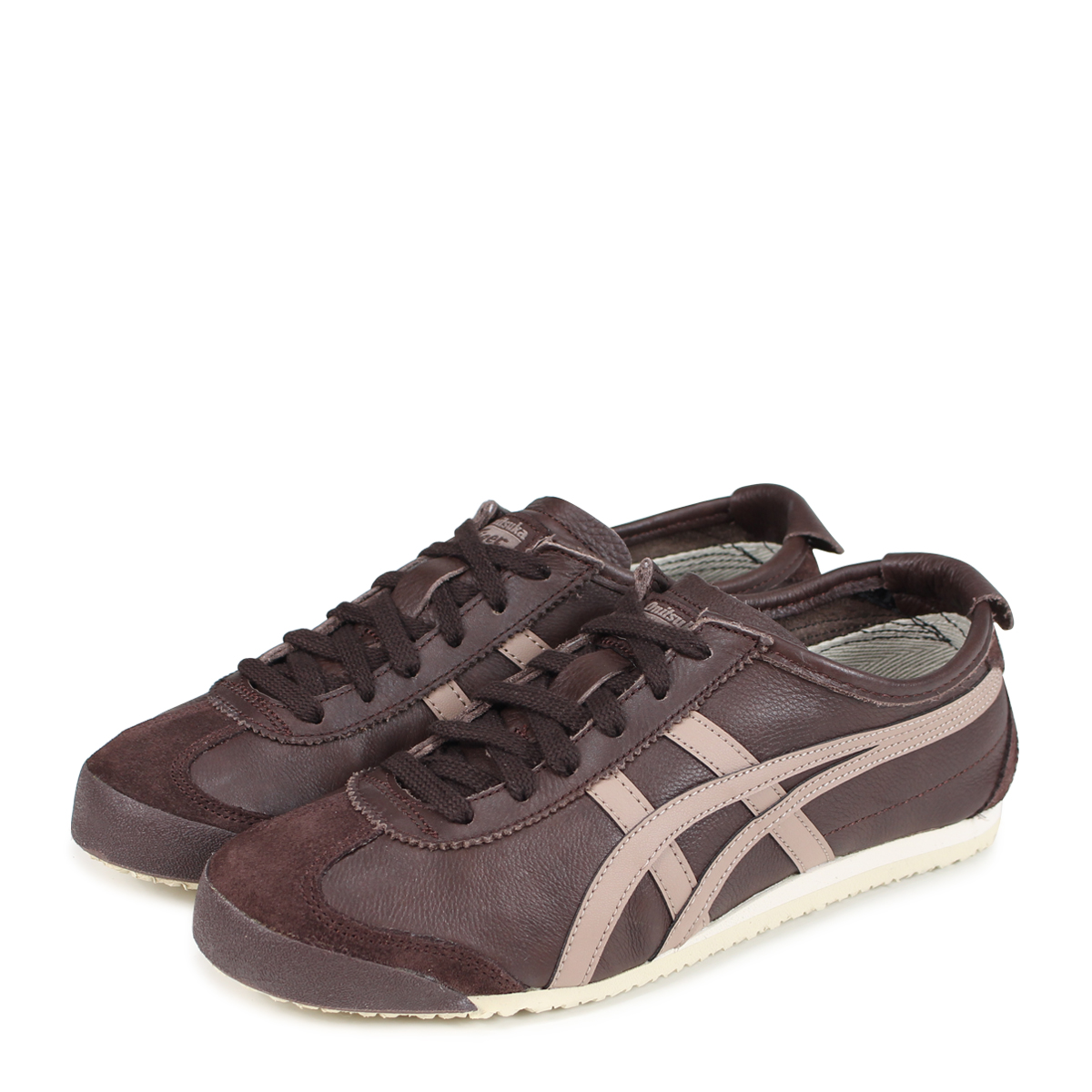 sale retailer b53f6 be2f1 Onitsuka Tiger MEXICO 66 Onitsuka tiger Mexico 66 men's lady's sneakers  1183A201-201 brown [load planned Shinnyu load in reservation product 8/2 ...