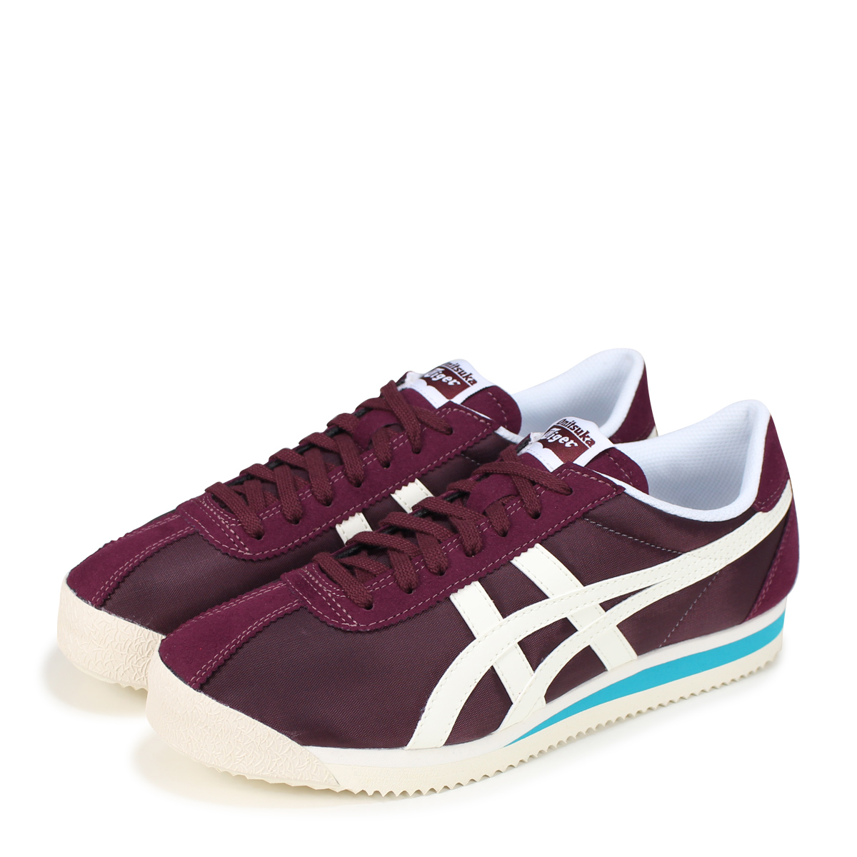 reputable site ca2ae 7aca3 Onitsuka Tiger TIGER CORSAIR Onitsuka tiger tiger Corsair men gap Dis  sneakers D747N-600 wine red [load planned Shinnyu load in reservation  product ...