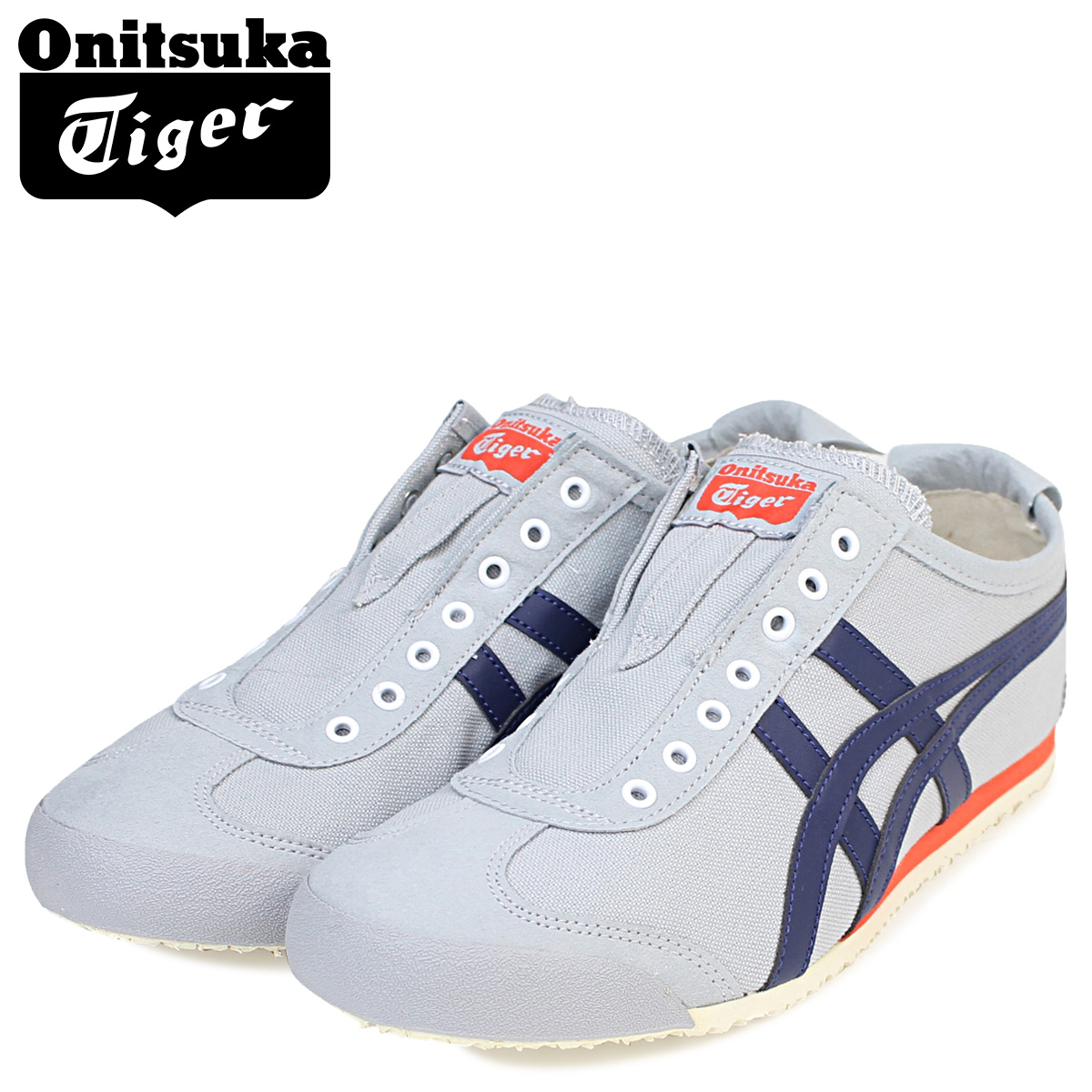 hot sale online 94ab6 46b5b Onitsuka Tiger asics Mexico 66 slip-ons Onitsuka Tiger men gap Dis sneakers  MEXICO 66 SLIP ON D3K0N 9649 shoes gray