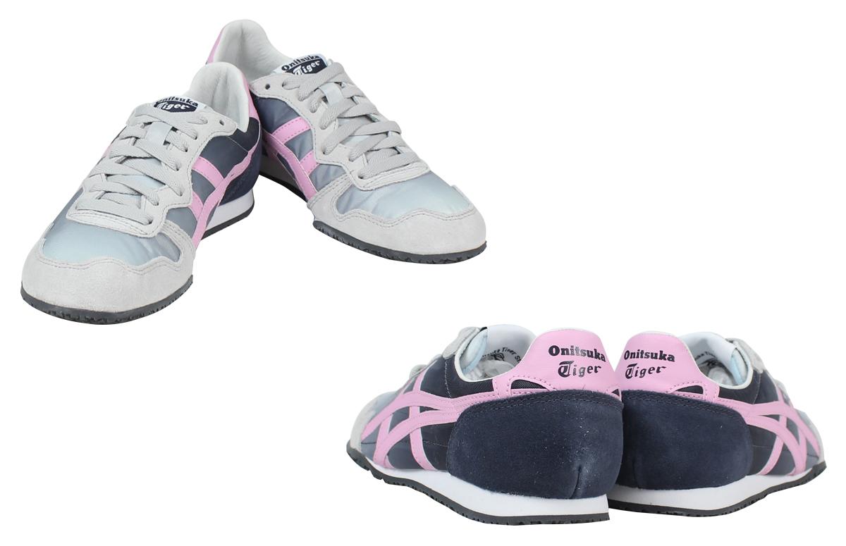 7c6dc79f6691  SOLD OUT  ONITSUKA Tiger ASICs Onitsuka Tiger asics Serrano sneakers Womens  SERRANO D 471L-1018 shoe grey