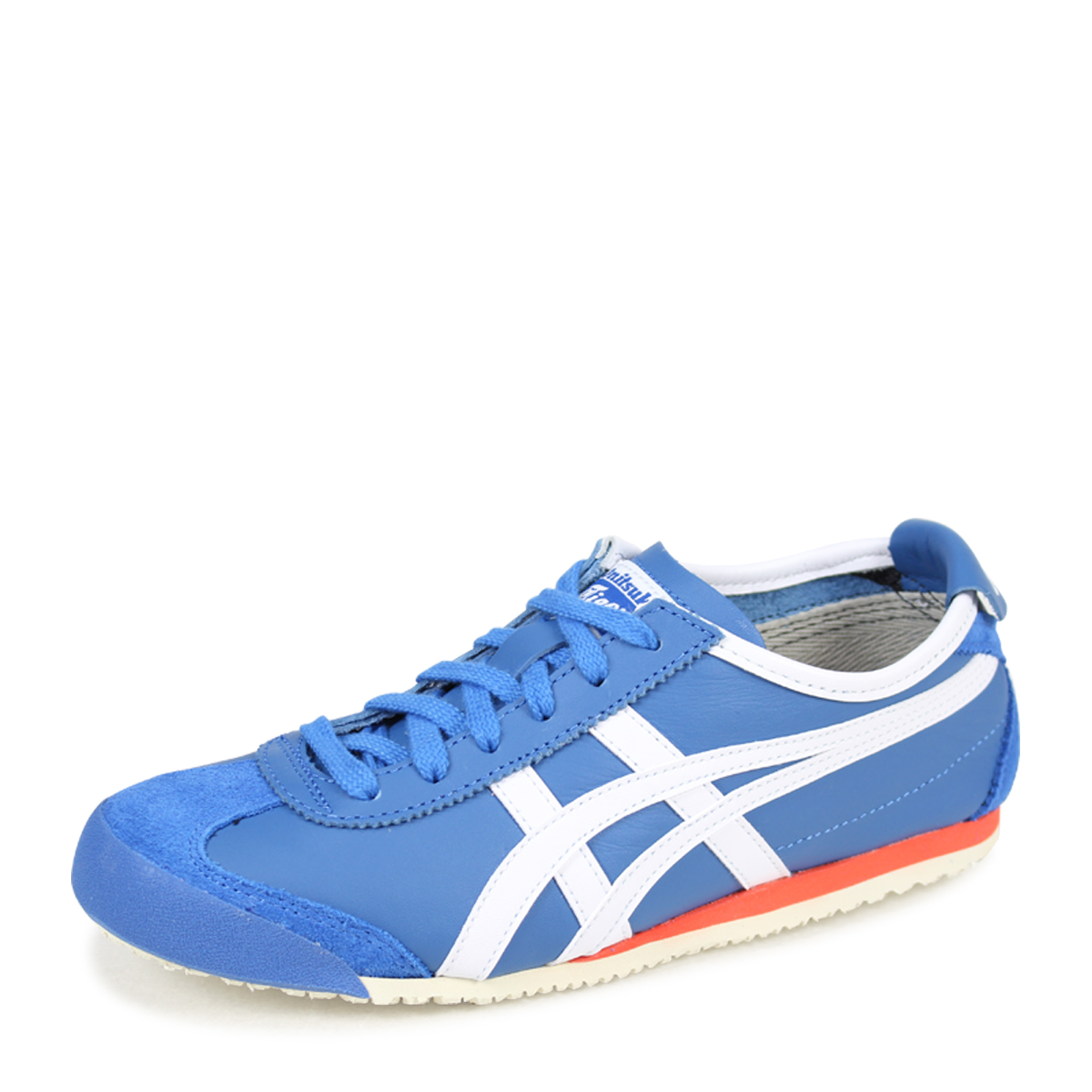 best loved 45f5c e17de Onitsuka Tiger MEXICO 66 Onitsuka tiger Mexico 66 men's lady's sneakers  D4J2L-4201 TH4J2L-4201 blue [183]