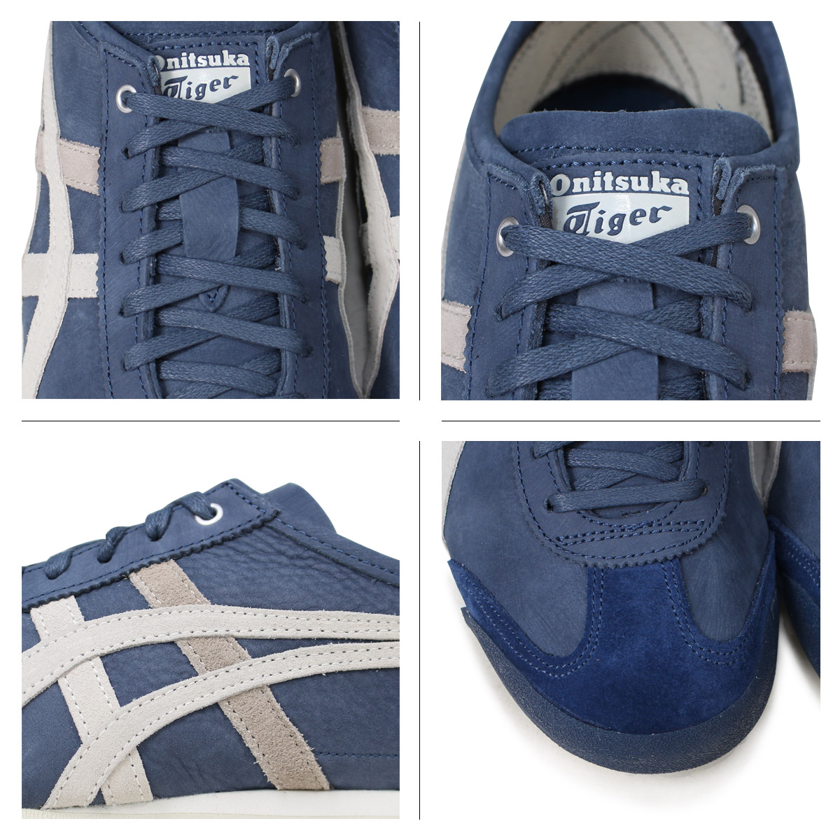 the best attitude c2432 a892d Onitsuka Tiger MEXICO 66 Onitsuka tiger Mexico 66 men's lady's sneakers  D832L-4990 dark blue [load planned Shinnyu load in reservation product 5/2  ...