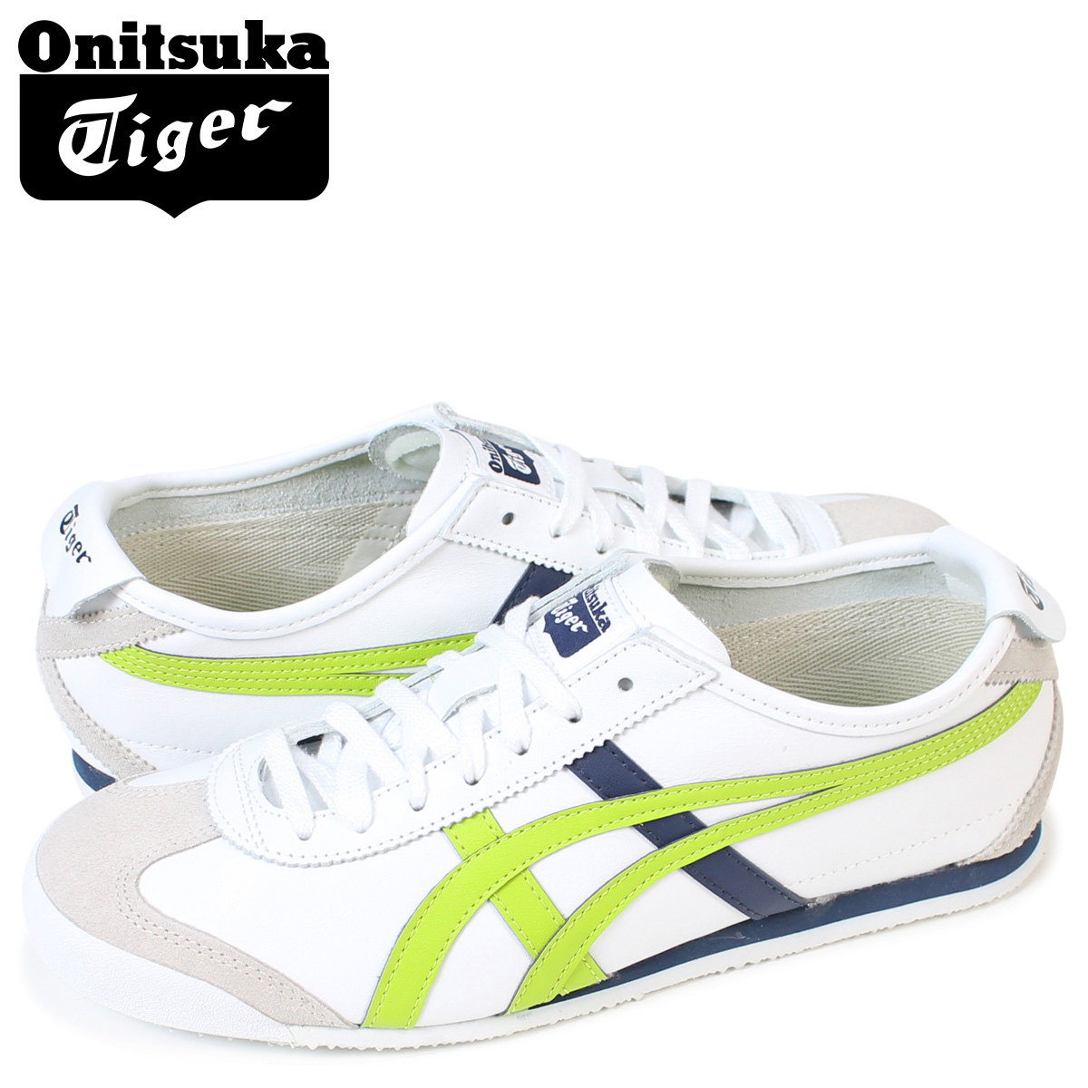 online retailer 3c425 c1393 Onitsuka Tiger Mexico 66 Onitsuka tiger MEXICO 66 men's sneakers ASICS  HL474-0187 shoes white [load planned Shinnyu load in reservation product  9/26 ...