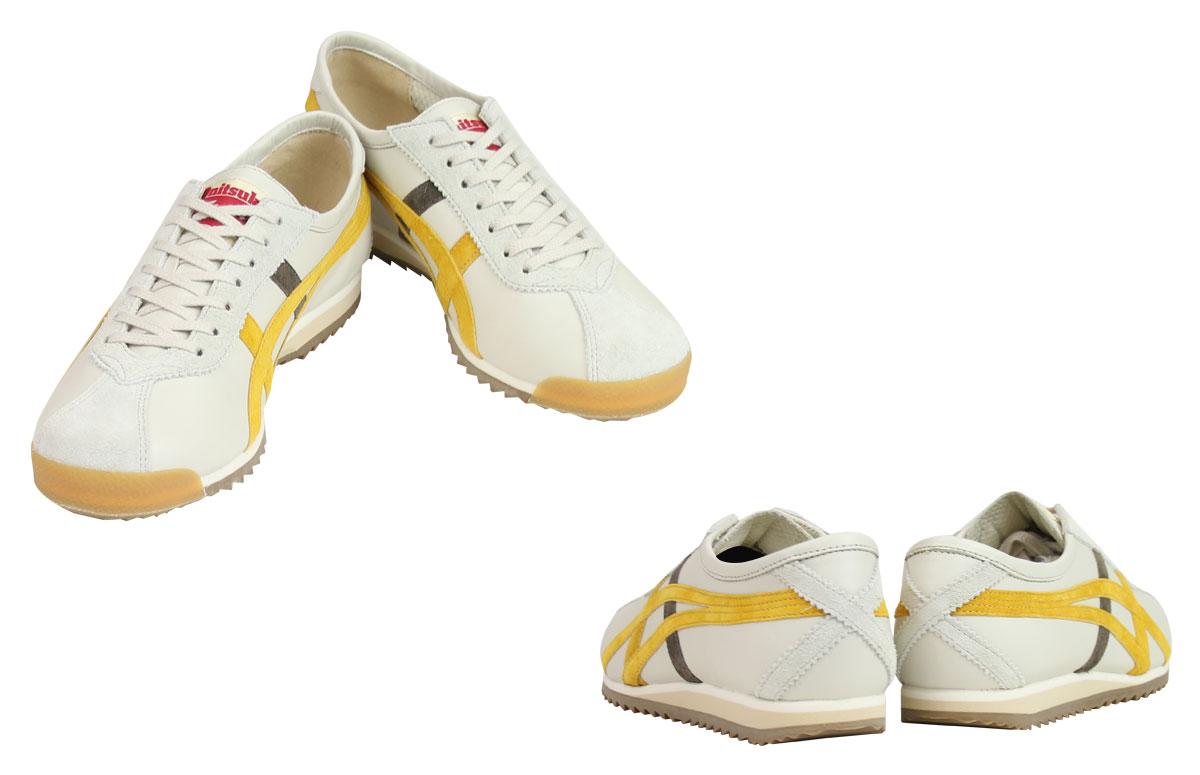 鬼冢虎 ASICs 鬼冢虎 asic 柔软 66 运动鞋女性柔软 66 威望 OT6000-9963 鞋白色