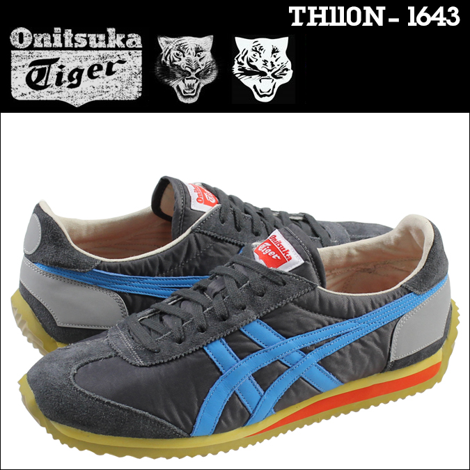 Onitsuka Tiger California 78 Vintage Men Blue/Black Shoes