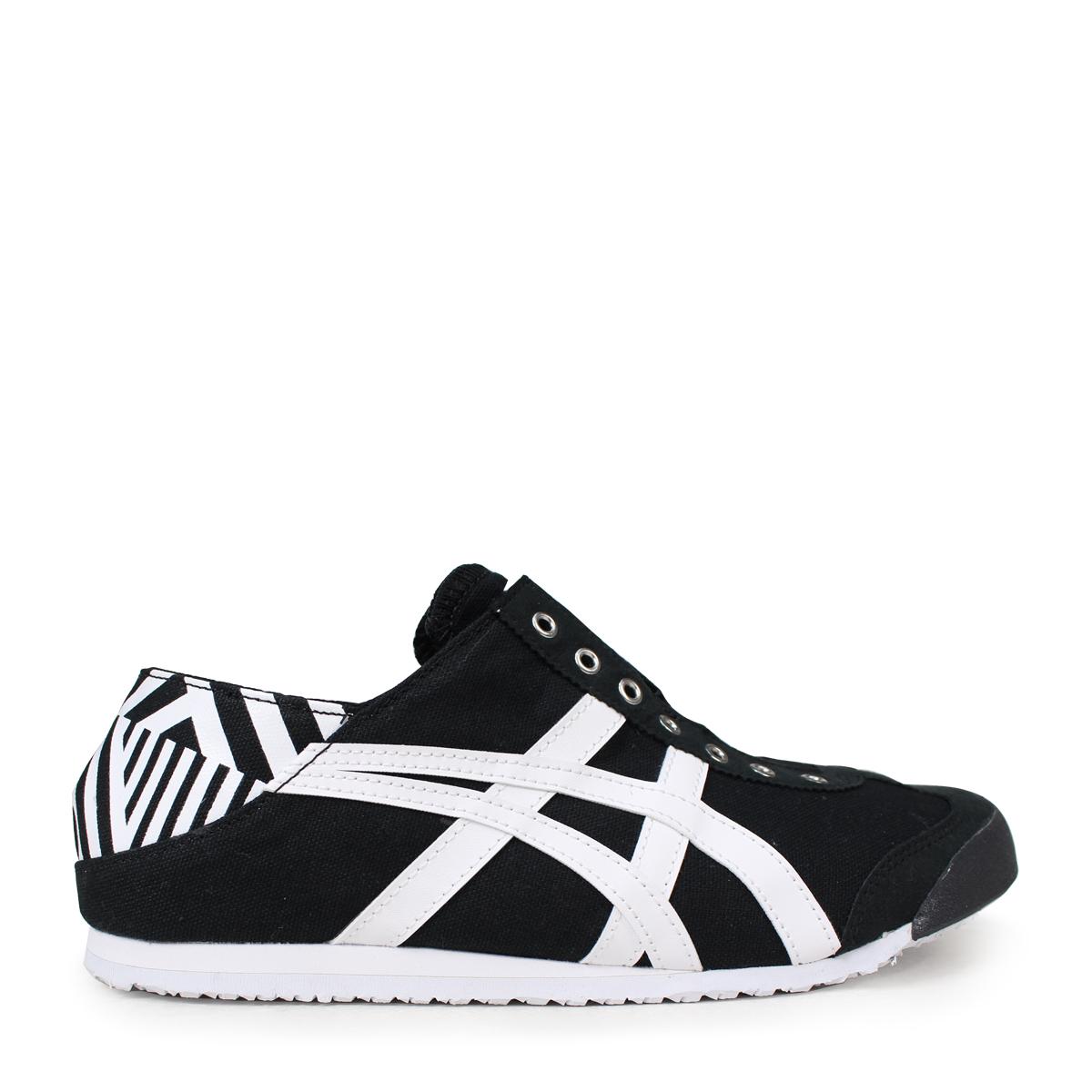 new style b8f01 34257 Onitsuka Tiger MEXICO 66 PARATY Onitsuka tiger Mexico 66 slip-ons men gap  Dis sneakers TH342N-9001 black [184]