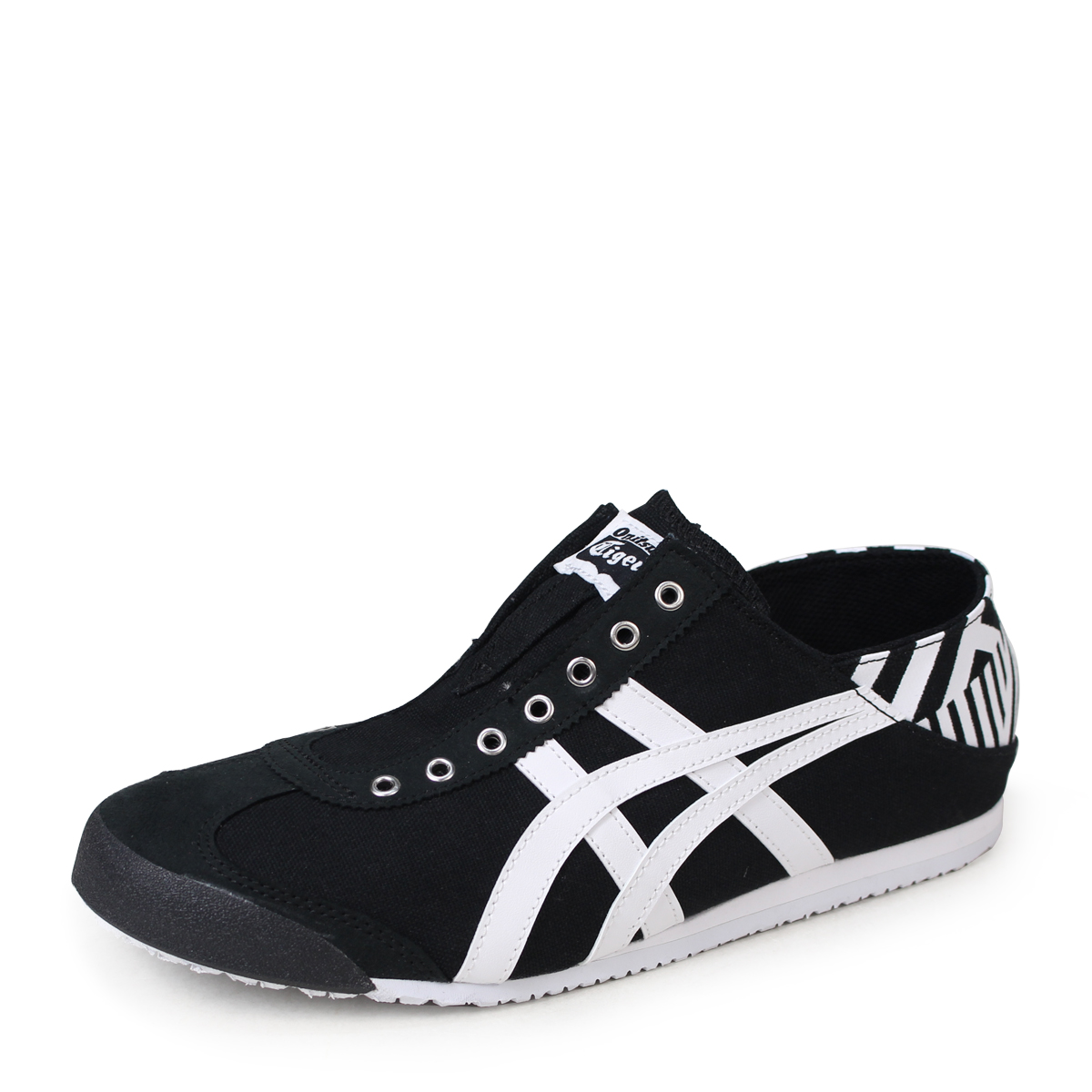 new style b2b12 e824c Onitsuka Tiger MEXICO 66 PARATY Onitsuka tiger Mexico 66 slip-ons men gap  Dis sneakers TH342N-9001 black [184]
