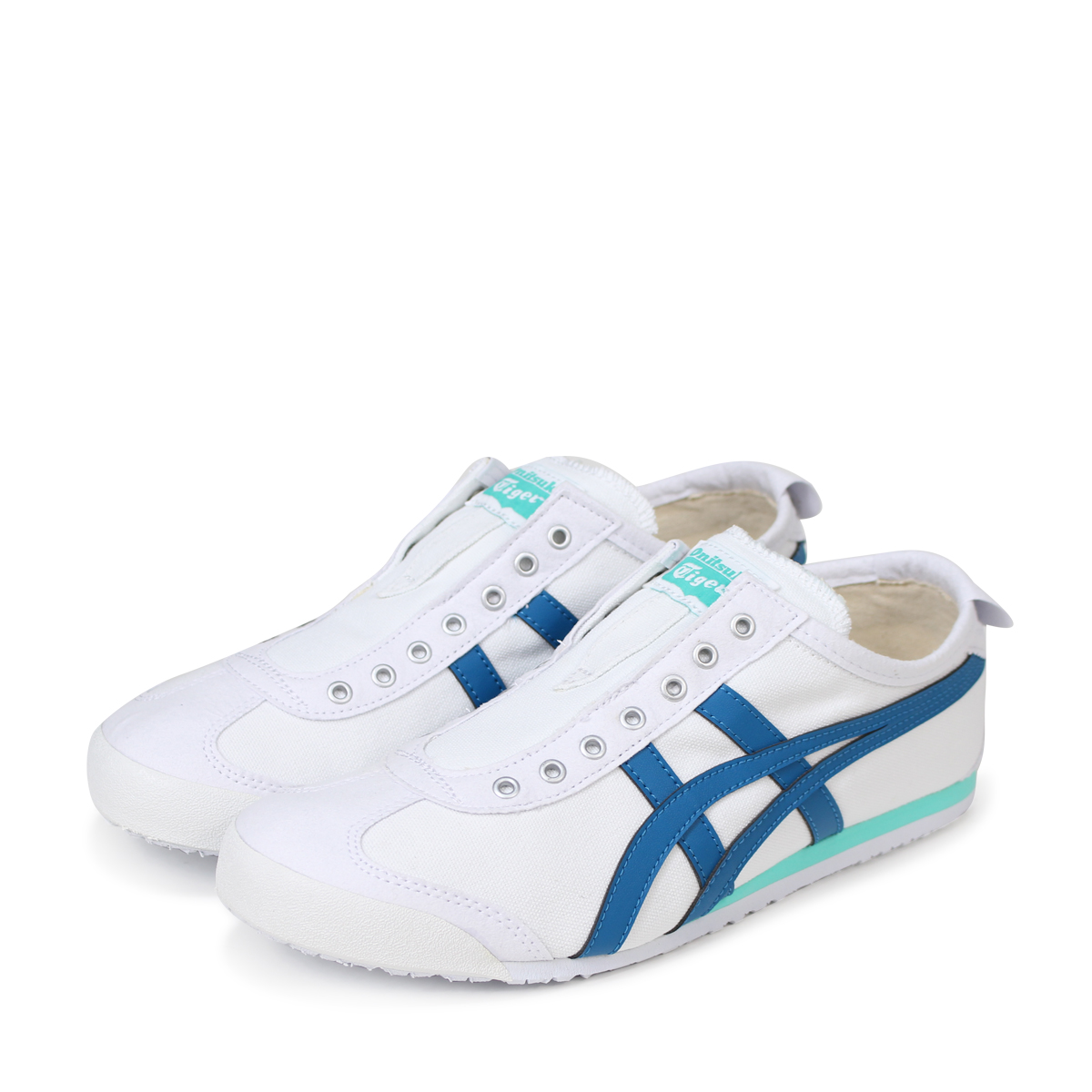new styles af079 03c85 Onitsuka Tiger MEXICO 66 SLIP-ON Onitsuka tiger Mexico 66 slip-ons men gap  Dis sneakers TH3K0N-0146 white [184]