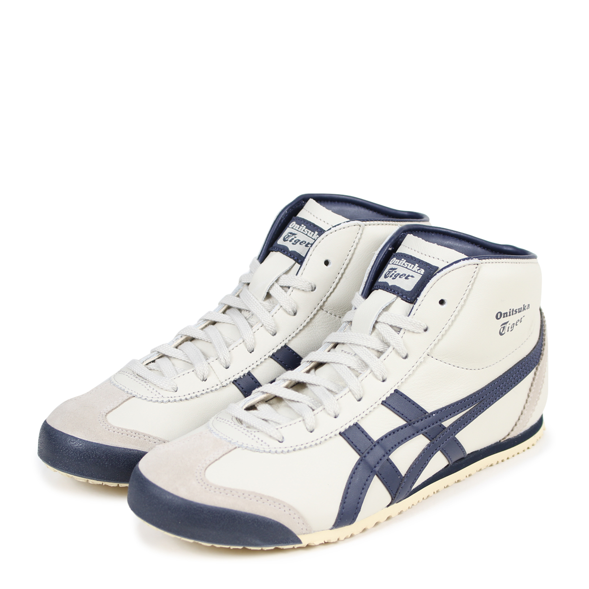 separation shoes 09a09 67207 Onitsuka Tiger MEXICO MID RUNNER Onitsuka tiger Mexico mid runner men  sneakers DL328-1659 THL328-1659 white [193]