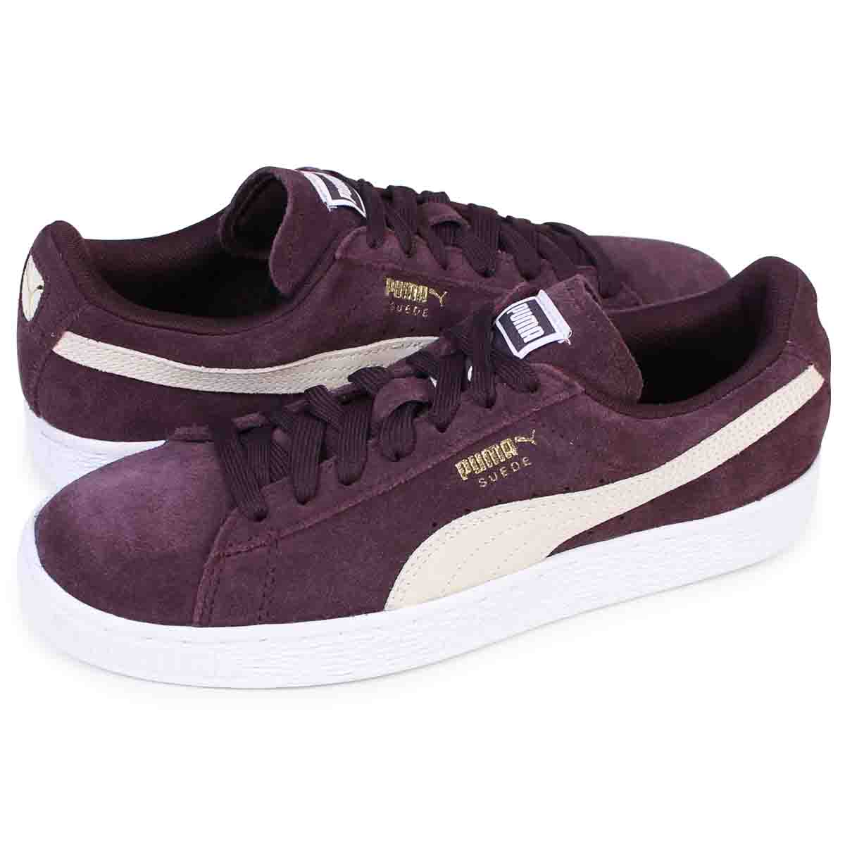 822123cdfdec62 PUMA SUEDE CLASSIC WMNS Puma suede classical music Lady's sneakers  355,462-40 men's shoes wine ...