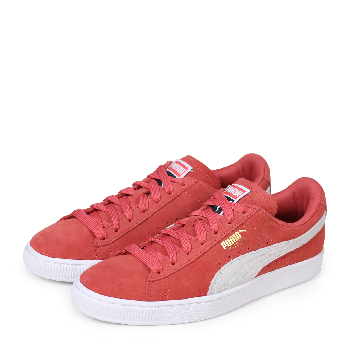 new products e017b d591d PUMA WMNS SUEDE CLASSIC 355,462-60 Puma suede classical music sneakers men  pink [184]