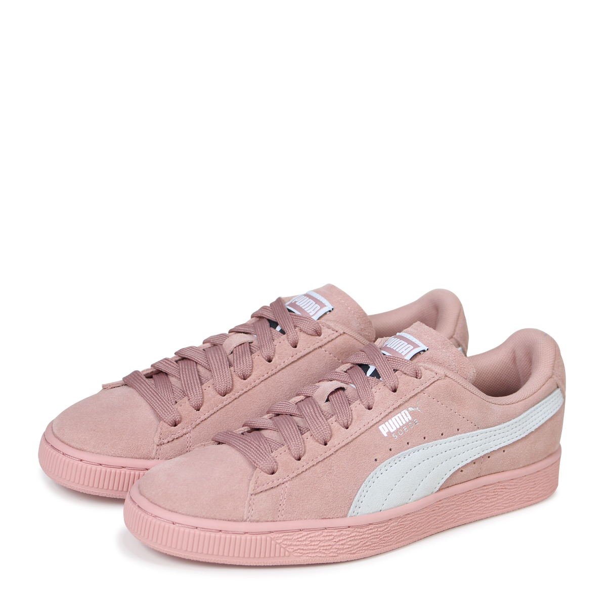 huge selection of c20f2 43045 PUMA WMNS SUEDE CLASSIC Puma suede classical music sneakers Lady's  355,462-67 pink [load planned Shinnyu load in reservation product 4/18  containing] ...