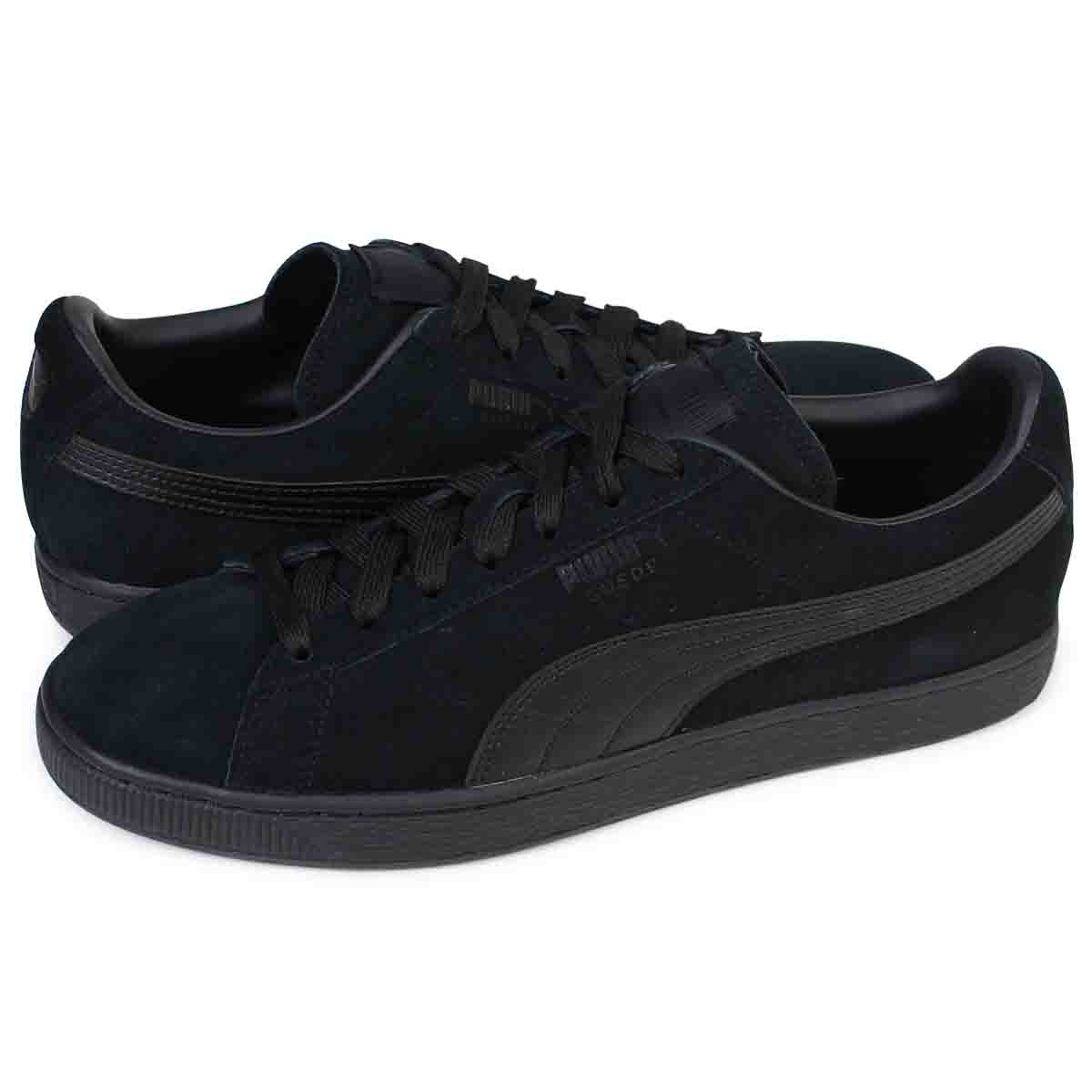 pick up 8c15a 2ce7d PUMA SUEDE CLASSIC + LFS Puma suede classical music sneakers 356,328-01  men's shoes black [load planned Shinnyu load in reservation product 12/14  ...