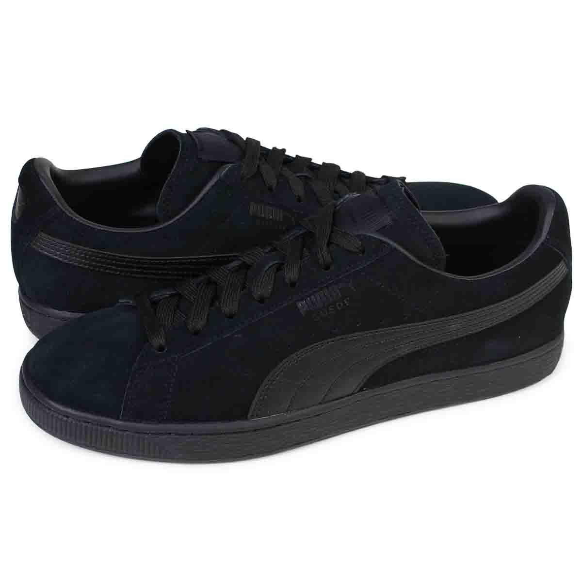 94605913a4a PUMA SUEDE CLASSIC + LFS Puma suede classical music sneakers 356,328-01  men's shoes black ...