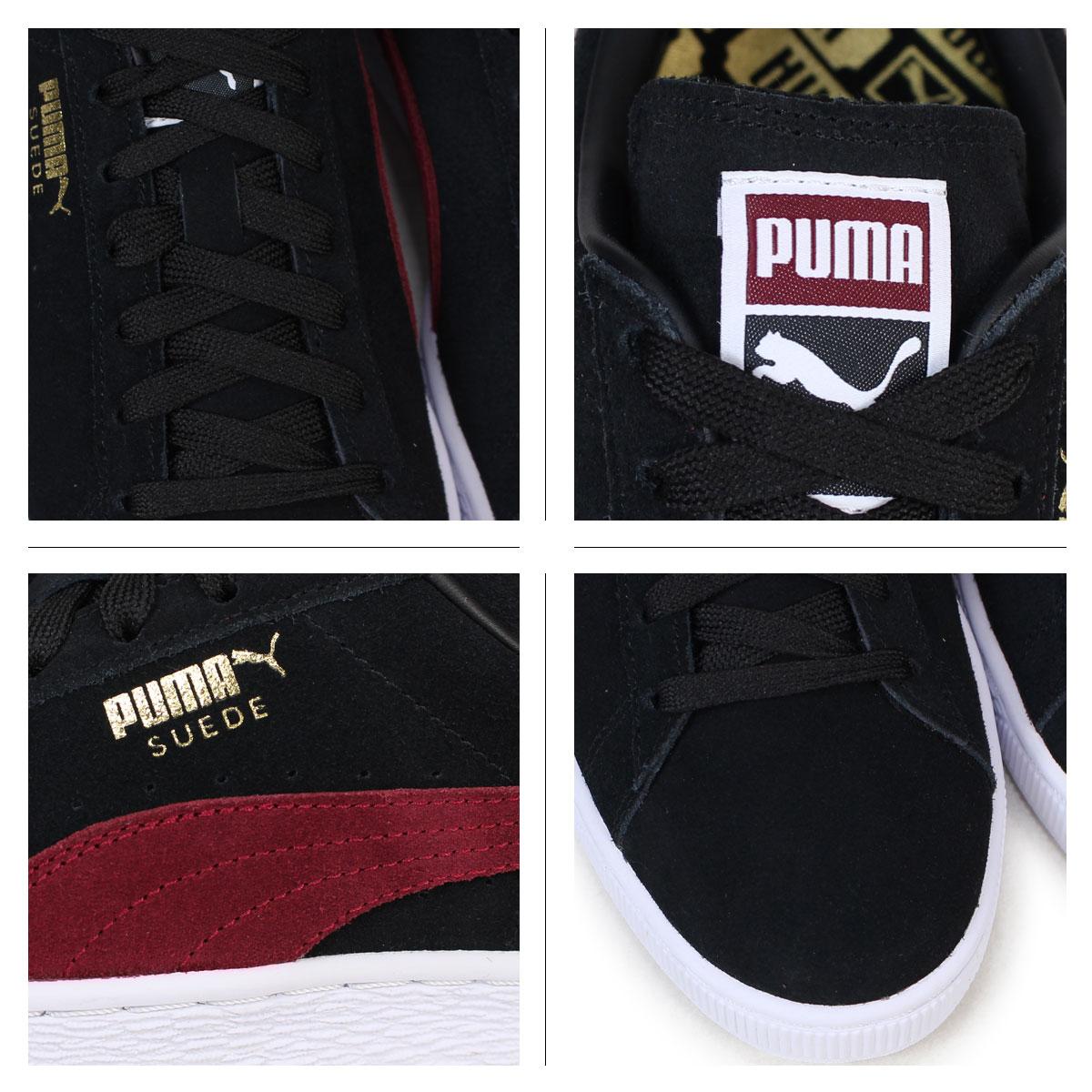 PUMA SUEDE CLASSIC + Puma suede classical music sneakers 363,242 31 men's lady's shoes black
