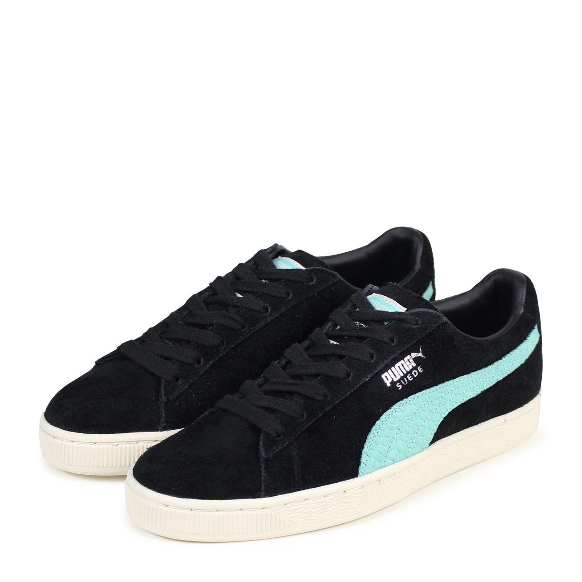 purchase cheap 3d24d 41438 PUMA SUEDE DIAMOND Puma suede sneakers men diamond supply collaboration  365,650-01 black [load planned Shinnyu load in reservation product 3/15 ...