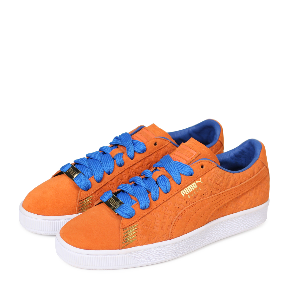 best value 1bcf8 e74e7 A PUMA SUEDE CLASSIC NYC Puma suede classical music sneakers men 366,293-01  orange [4/18 Shinnyu load] [184]