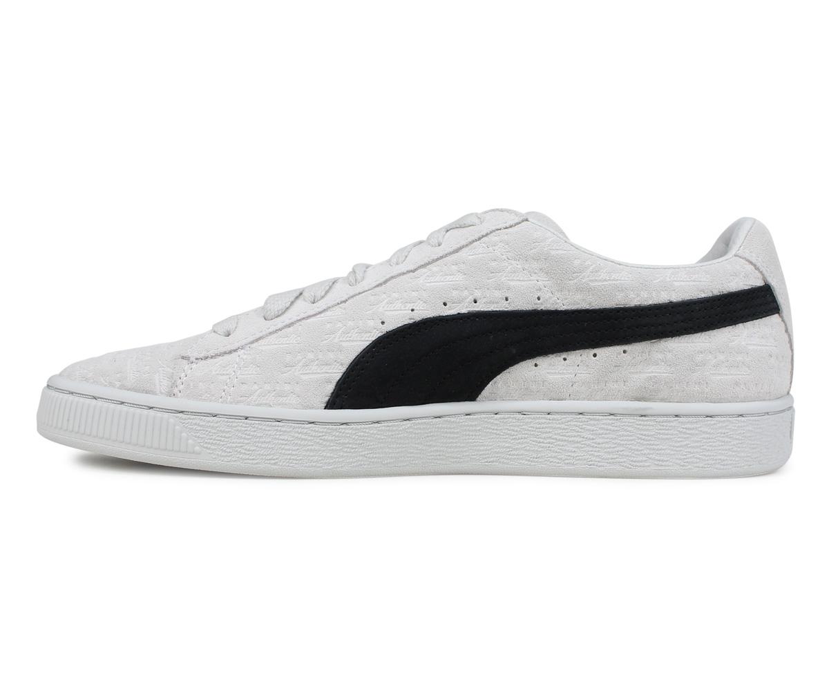 PUMA SUEDE CLASSIC Puma suede cloth classical music sneakers men gap Dis Panini collaboration PANINI white 366,323 01