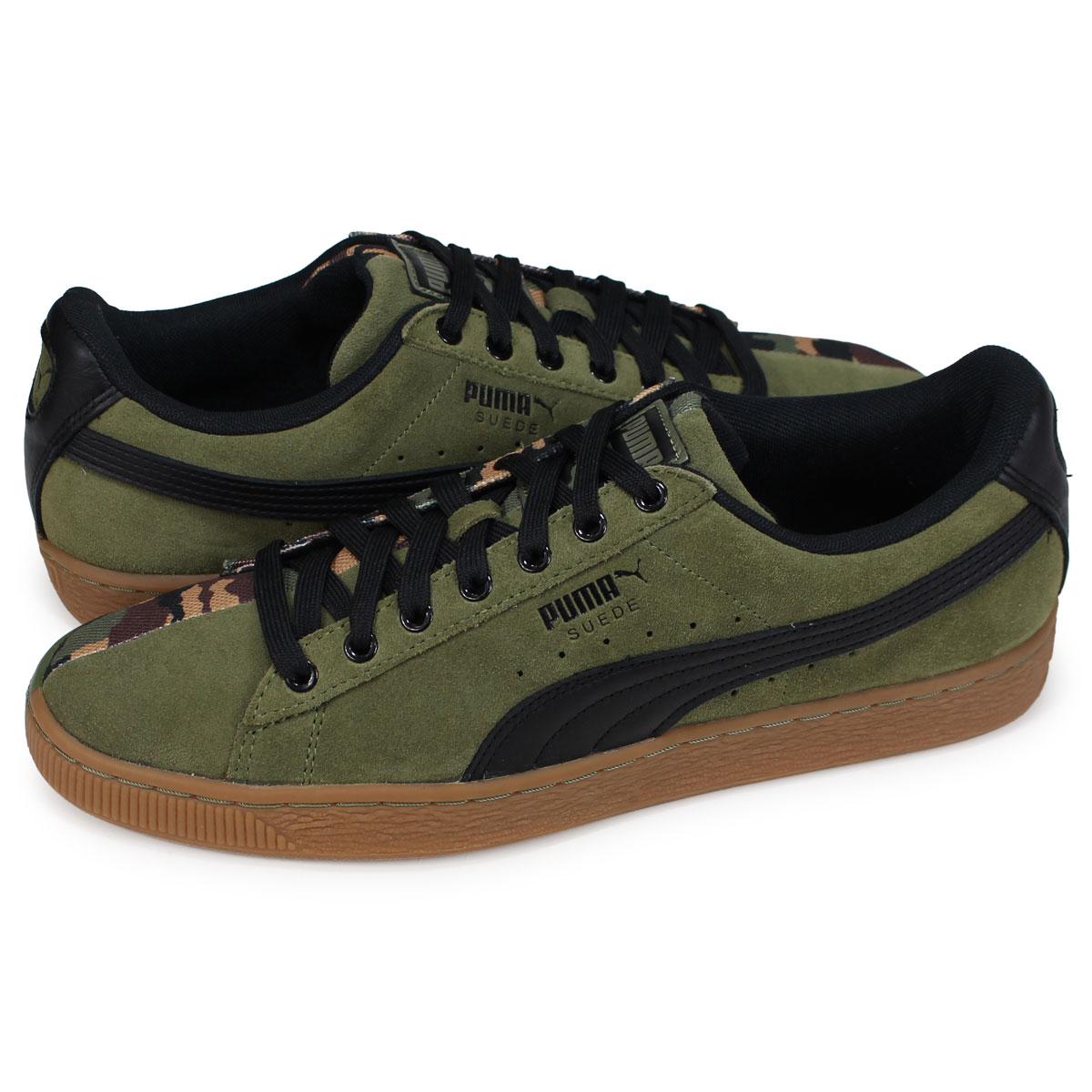 the best attitude cd5f7 73687 PUMA SUEDE CLASSIC Puma suede cloth classical music sneakers men khaki  367,986-01 [191]