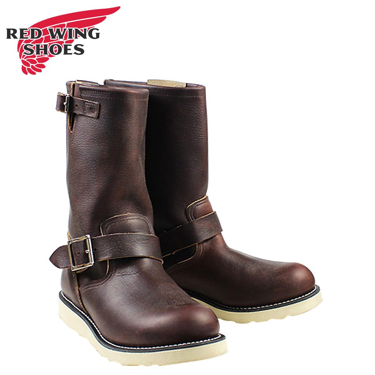 紅鞋紅翼工程師靴子工程師野薔薇浮油 D 明智皮革男式科維斯 2970年棕色 [定期] 02P30May15 x 2 點