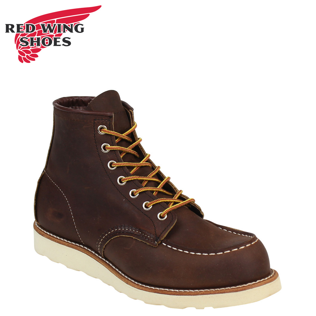 eb596d5a952 RED WING red wing Irish setter boots 6INCH CLASSIC MOC 6 inches classic  mock D Wise 8880 redwing men
