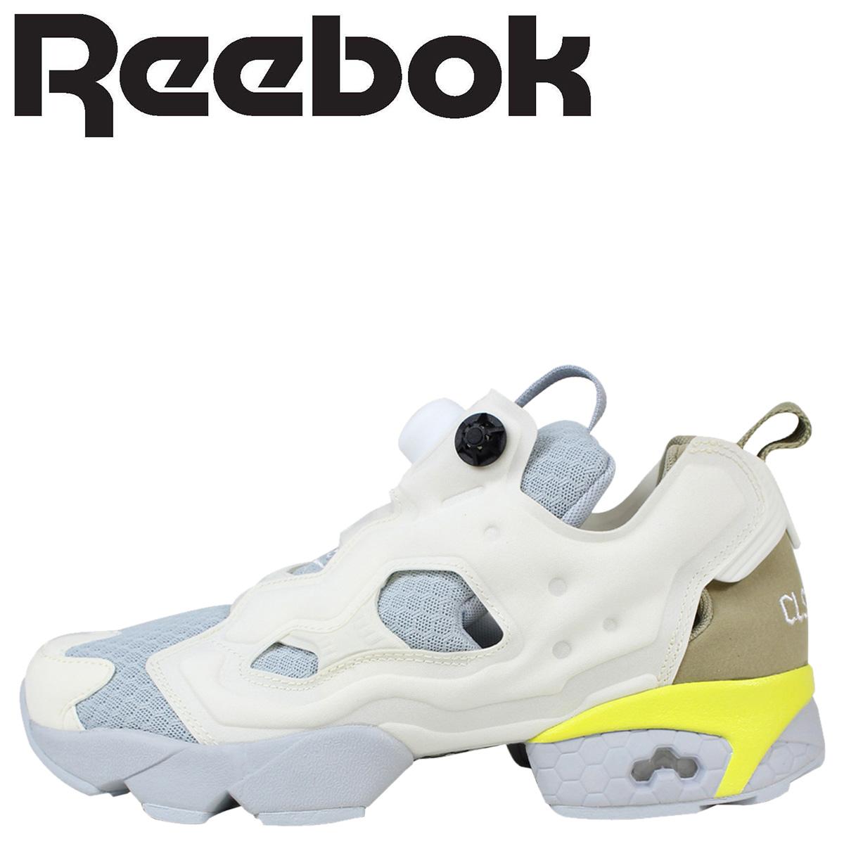 fbaa5d73386a9d ALLSPORTS  Reebok Reebok pump fury sneakers INSTAPUMP FURY CLSHX AR0366 men s  women s shoes white  8 20 new in stock