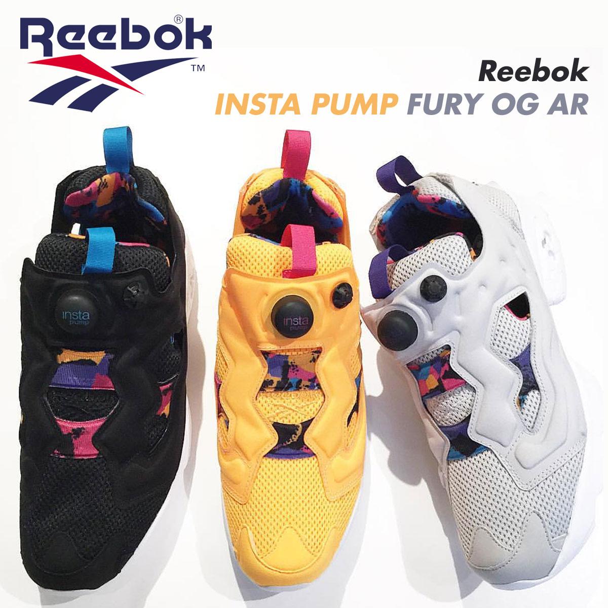 954868267578 Reebok ポンプフューリースニーカーリーボック INSTA PUMP FURY OG AR BD1506 BD1507 BD1508 men  shoes gray  4 19 Shinnyu load   174