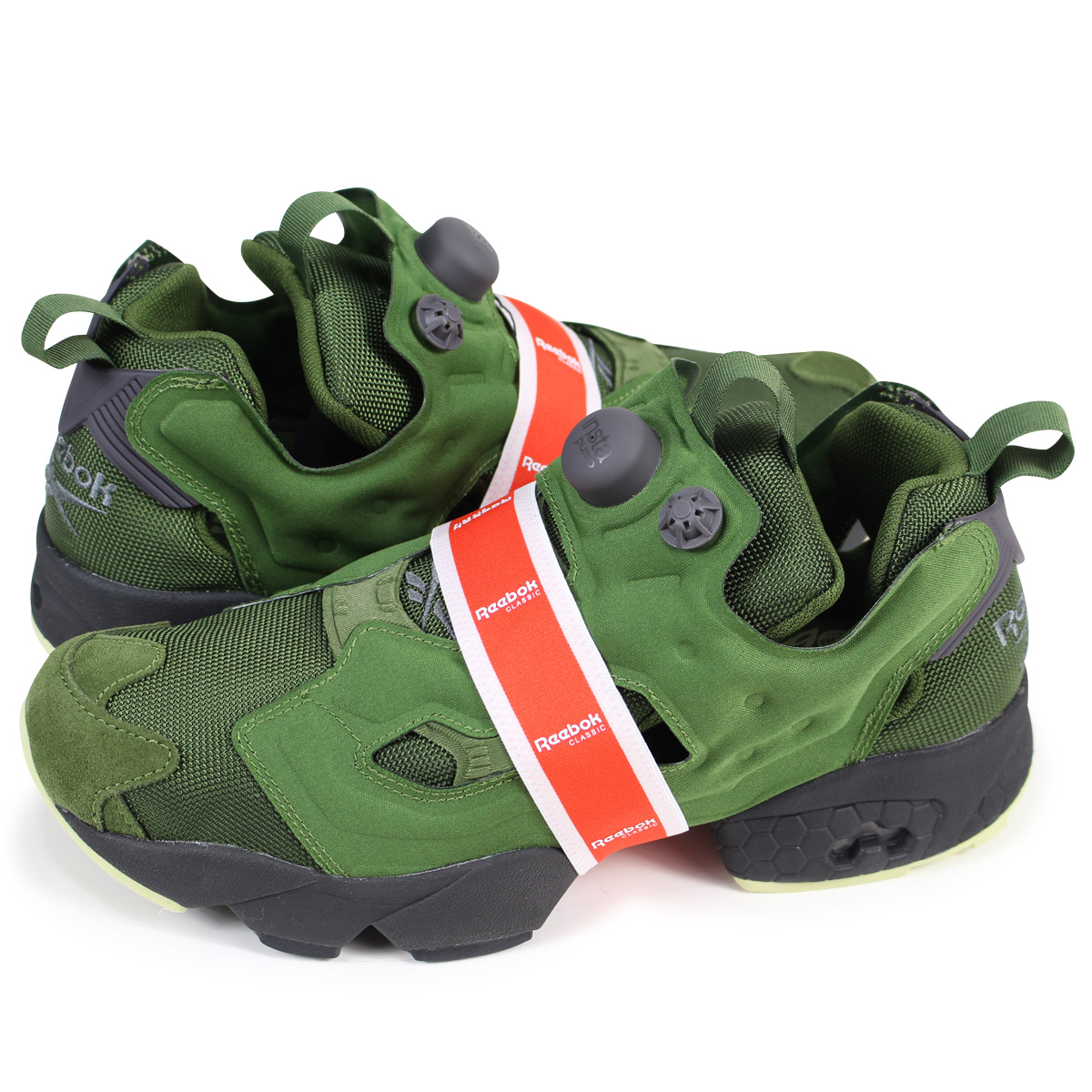 02542a2ed9a6 Reebok INSTAPUMP FURY OG MB リーボックポンプフューリースニーカー BS9729 men gap Dis green  load  planned Shinnyu load in reservation product 1 26 containing  ...