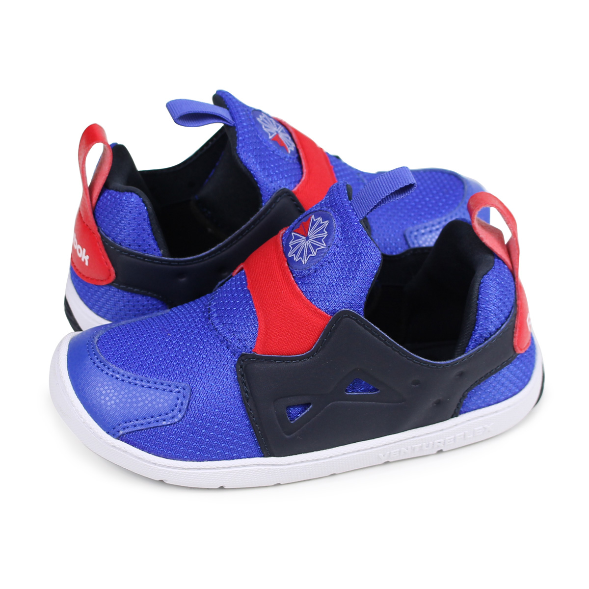 Reebok VENTURE FLEX 2.0 Reebok venture flextime baby sneakers slip-ons  CM9144 blue  load planned Shinnyu load in reservation product 1 13  containing   1801  70806564e